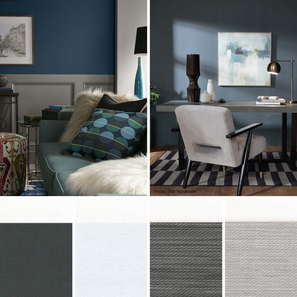 Pair Zebra Blinds with the Biggest Trend of 2021 - Blue Earth Colours Taken From Nature